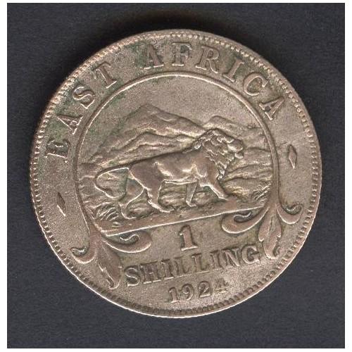 EAST AFRICA 1 Shilling 1924 AG