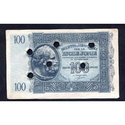 ISOLE JONIE 100 Dracme 1940...