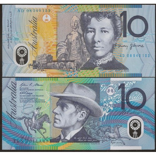AUSTRALIA 10 Dollars 2008...