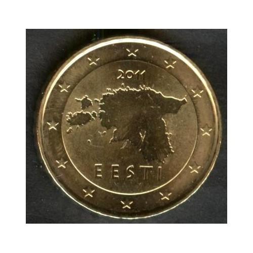 ESTONIA 10 Euro Cent 2011