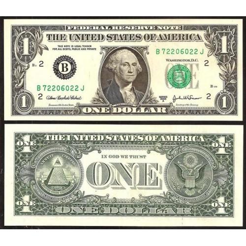 "USA 1 Dollar 2003A Series ""B"""