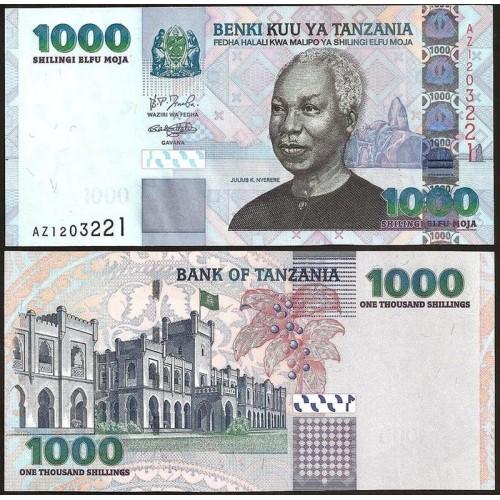 TANZANIA 1000 Shilingi 2006