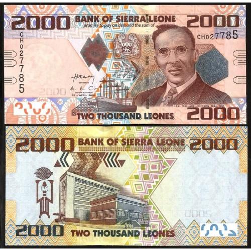 SIERRA LEONE 2000 Leones 2010
