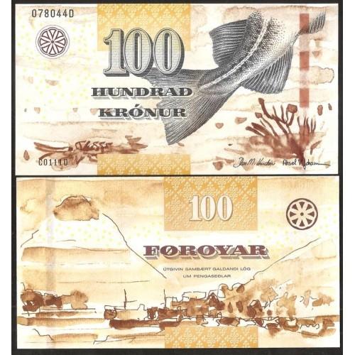 FAEROE ISLANDS 100 Kronur 2011