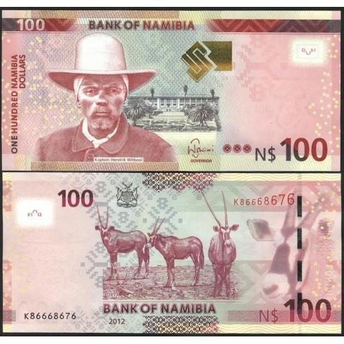 NAMIBIA 100 Dollars 2012