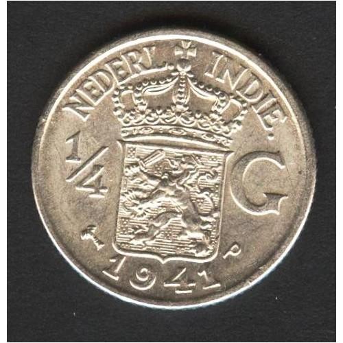 NETHERLANDS EAST INDIES 1/4...