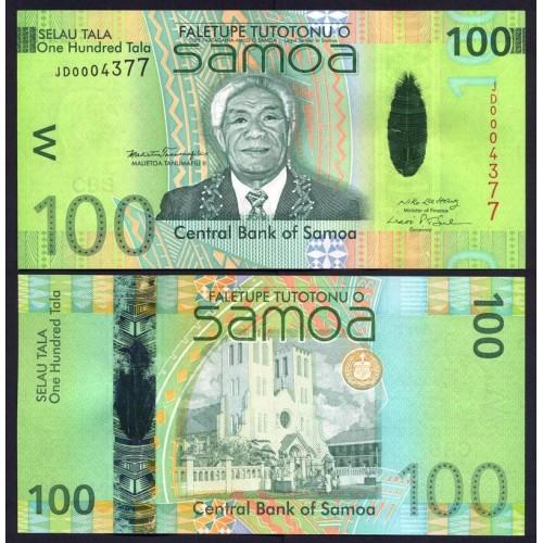 WESTERN SAMOA 100 Tala 2008...