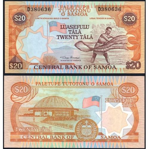 WESTERN SAMOA 20 Tala 2002