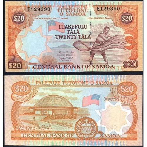 WESTERN SAMOA 20 Tala 2005