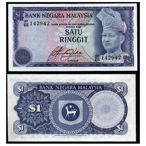 MALAYSIA 1 Ringgit 1981