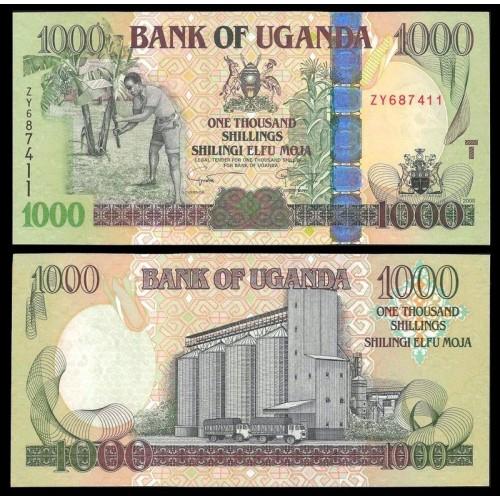 UGANDA 1000 Shillings 2008