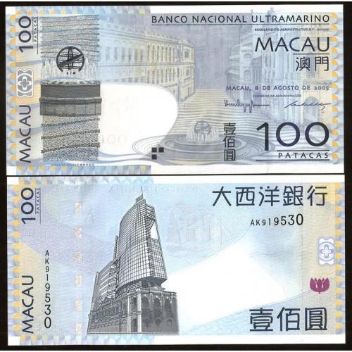 MACAO 100 Patacas 2005