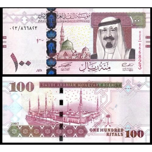 SAUDI ARABIA 100 Riyals 2007