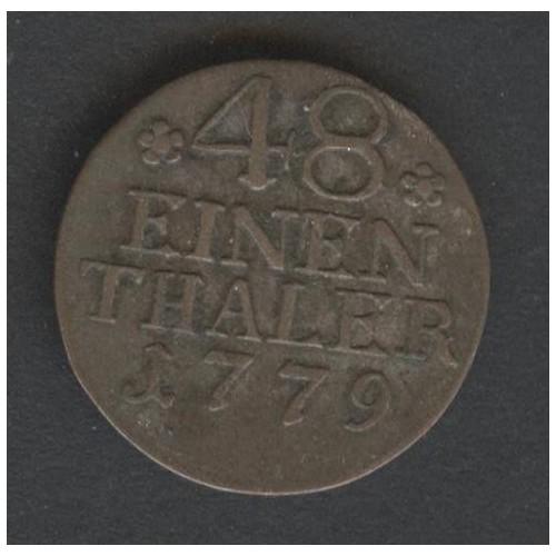 PRUSSIA 1/48 Thaler 1779 A