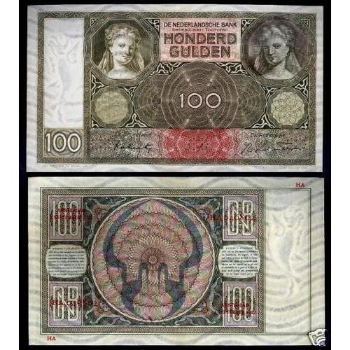 NETHERLANDS 100 Gulden...