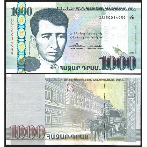 ARMENIA 1000 Dram 2011