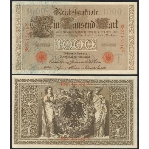 GERMANY 1000 Mark 1910