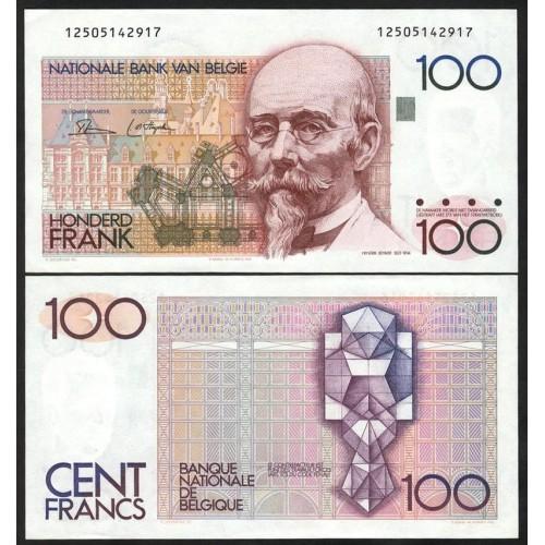BELGIUM 100 Francs 1978/81