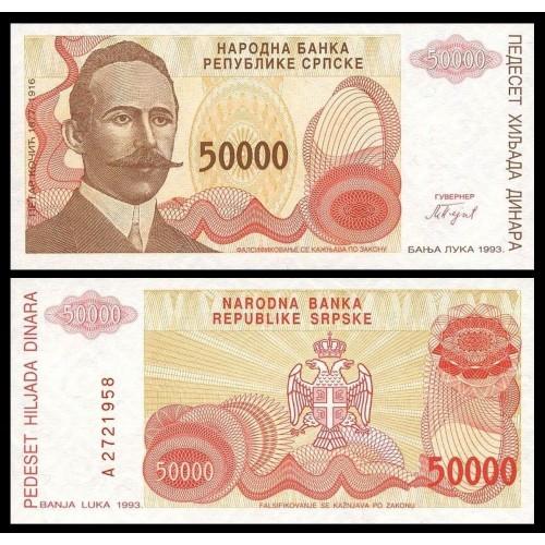 BOSNIA HERZEGOVINA 50.000...