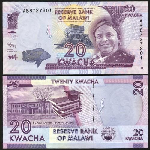 MALAWI 20 Kwacha 2012