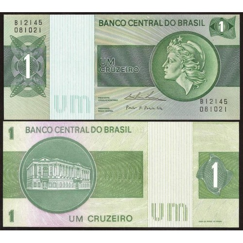 BRAZIL 1 Cruzeiro 1975