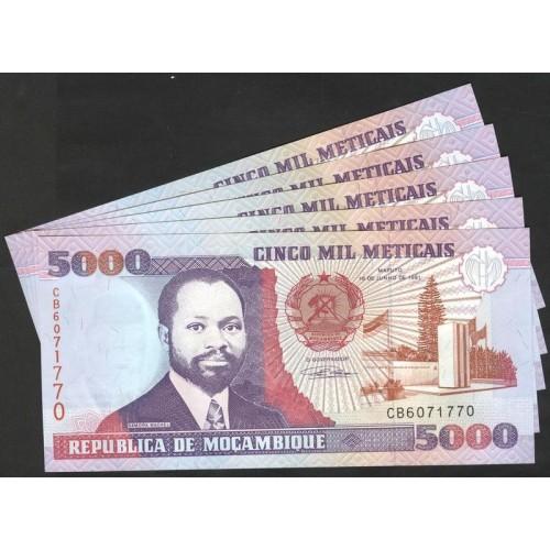 MOZAMBIQUE Lot of 5...