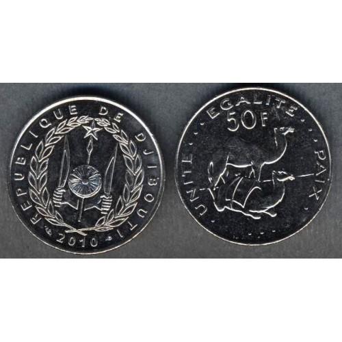 DJIBOUTI 50 Francs 2010