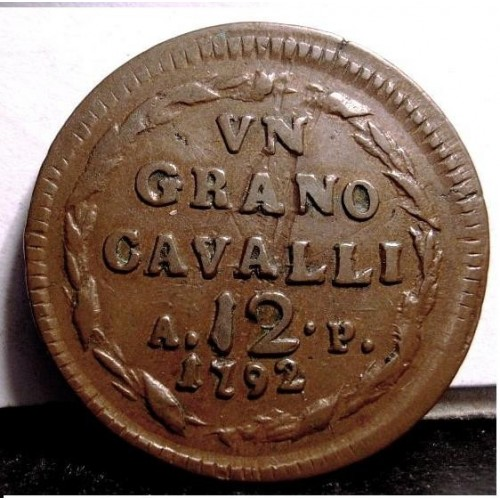 FERDINANDO IV Grano 12...