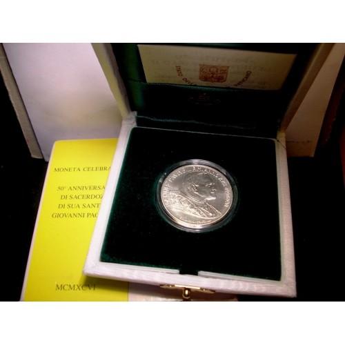 VATICANO 500 LIRE 1996 AG...