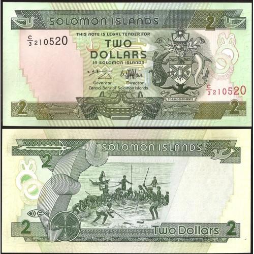 SOLOMON ISLANDS 2 Dollars 1997