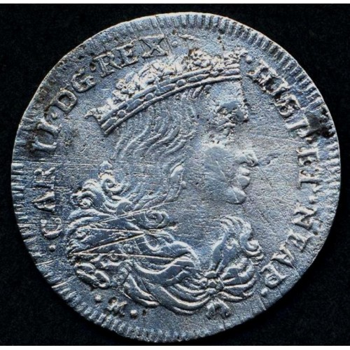 NAPOLI CARLO II Tarì 1692 AG