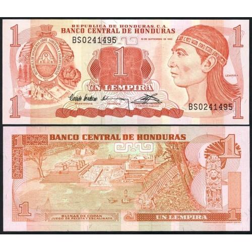 HONDURAS 1 Lempira 1992