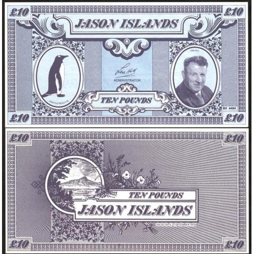 JASON ISLANDS 10 Pounds 1979