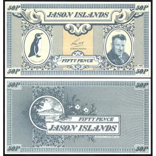 JASON ISLANDS 50 Pence 1979