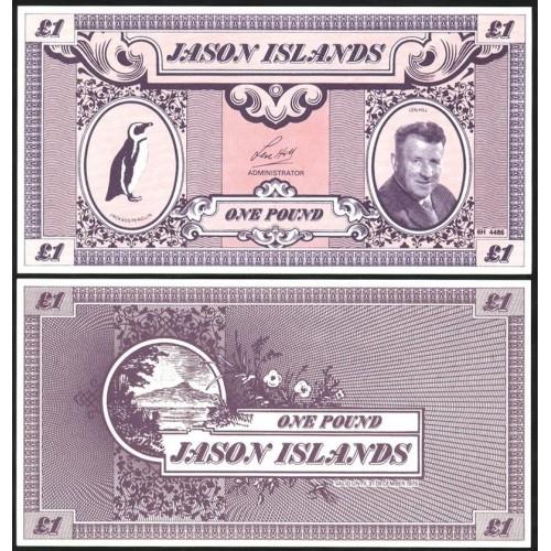 JASON ISLANDS 1 Pound 1979