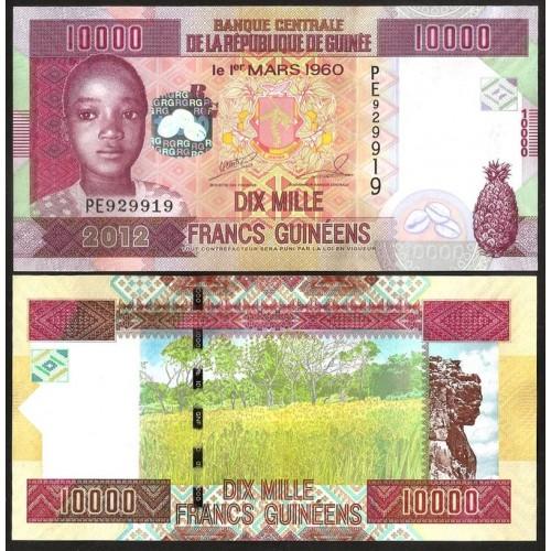 GUINEA 10.000 Francs 2012