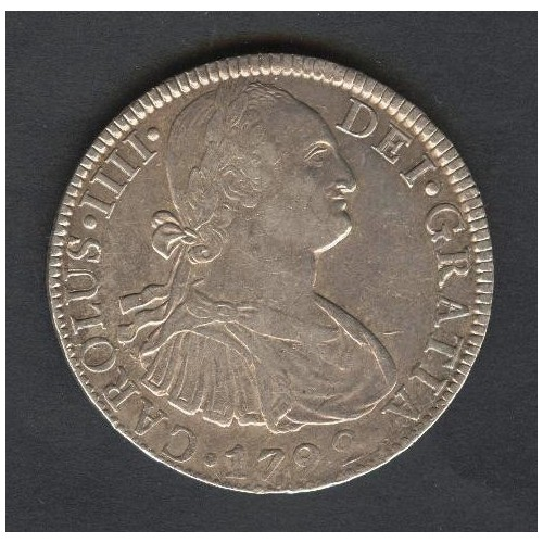 MEXICO 8 Reales 1792 AG...