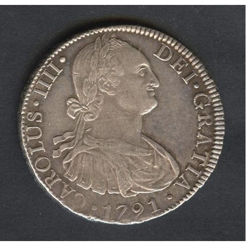 MEXICO 8 Reales 1791 AG...