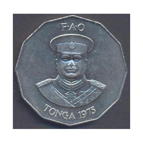 TONGA 50 Seniti 1975 FAO