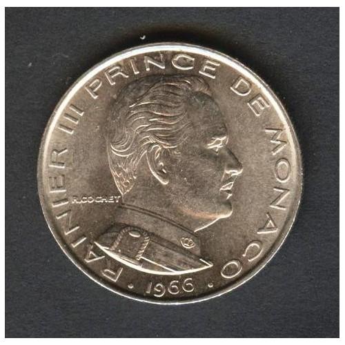 MONACO 1 Franc 1966