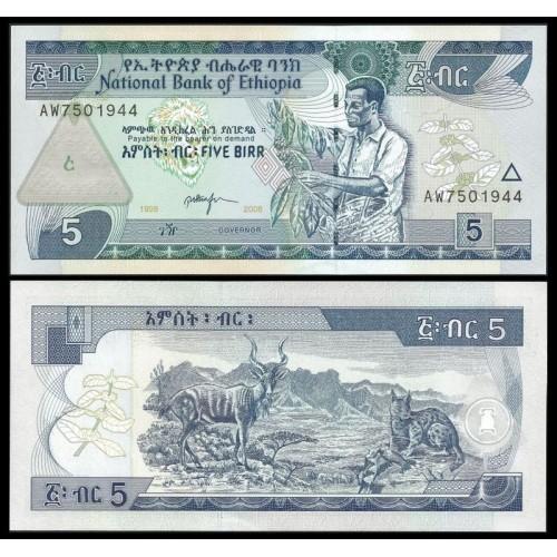 ETHIOPIA 5 Birr 2006