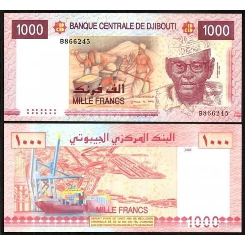 DJIBOUTI 1000 Francs 2005