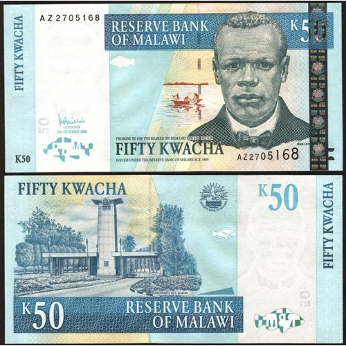 MALAWI 50 Kwacha 2005
