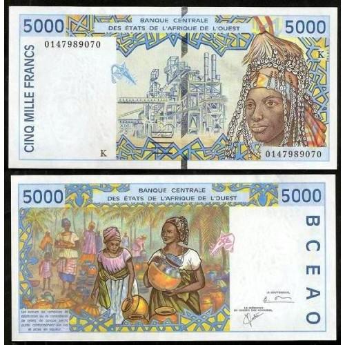 SENEGAL ( W. A. S. ) 5000...