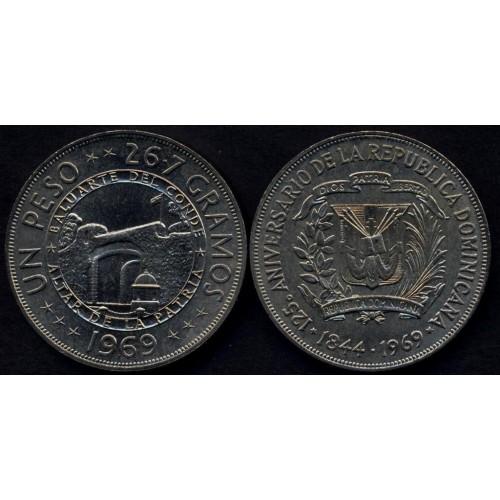 DOMINICAN REPUBLIC 1 Peso...