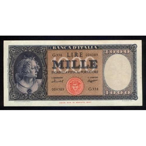 1000 Lire Medusa 1959