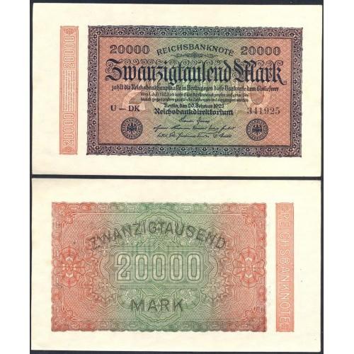 GERMANY 20.000 Mark 1923