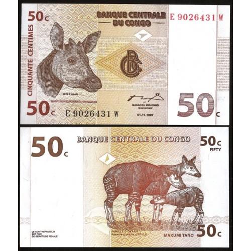CONGO DEMOCRATIC 50...