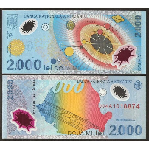 ROMANIA 2000 Lei 1999...