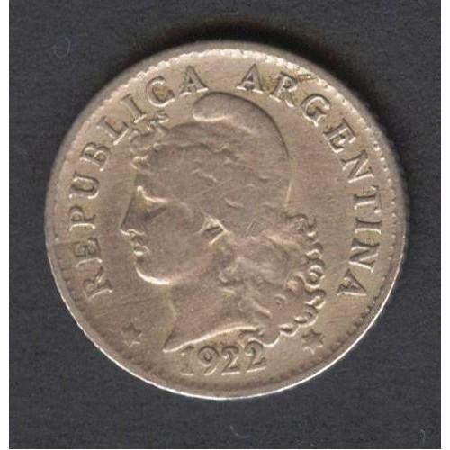 ARGENTINA 5 Centavos 1922